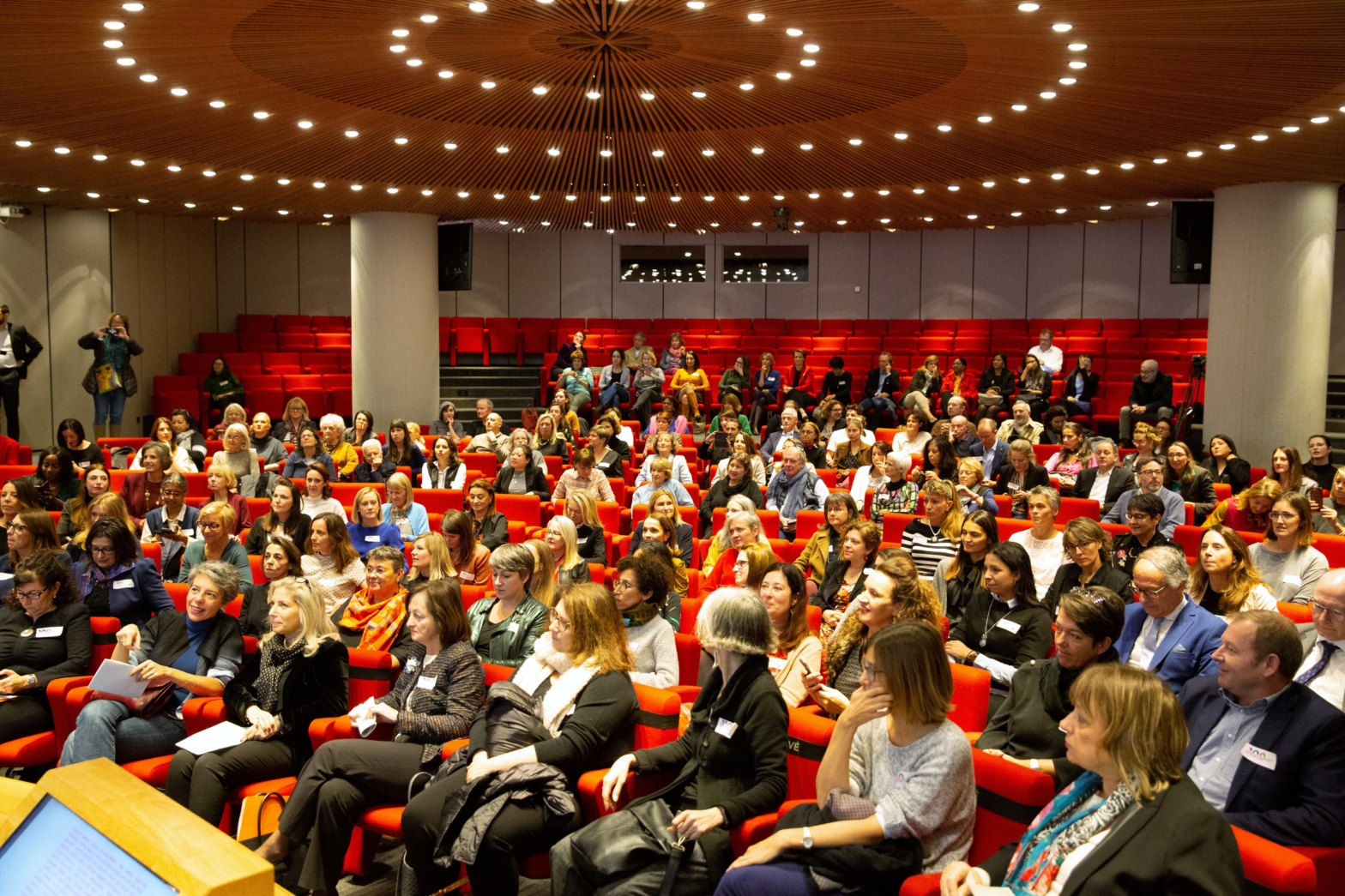 Cérémonie de lancement du projet le 8 novembre 2019 à la FER – Genève