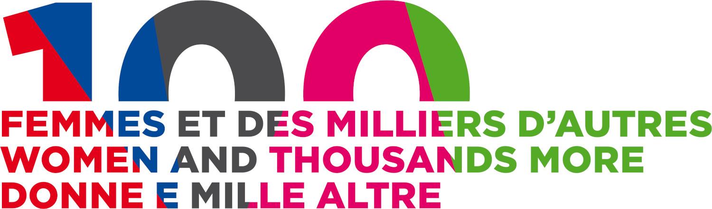 100 femmes et des milliers d'autres logo